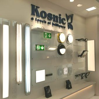 Kosnic magic at EuroLuce, Milan 2017